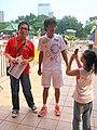 Hong Kong 2009 East Asian Games Torch Relay - 2009-08-29 14h24m21s IMG 7351.JPG