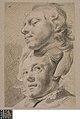 Hoofden van een jonge man en een jonge vrouw, circa 1712 - circa 1799, Groeningemuseum, 0040246000.jpg