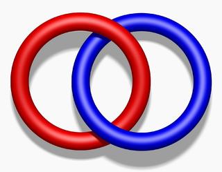 Hopf link prime link; simplest nontrivial link