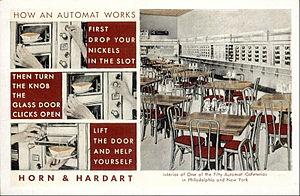 Horn & Hardart - Image: Horn & Hardart automat