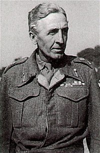 El Tinent General Horrocks, març de 1945