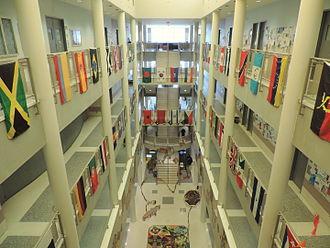 Hostos Community College - Atrium of 450 Grand Concourse, Building C
