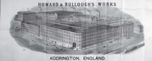 Howard & Bullough - Globe Works, Accrington