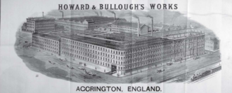 Howard & Bullough - Globe Works, Accrington