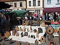 Hrnčířské trhy Beroun 2011, umělecká keramika z kameniny.JPG