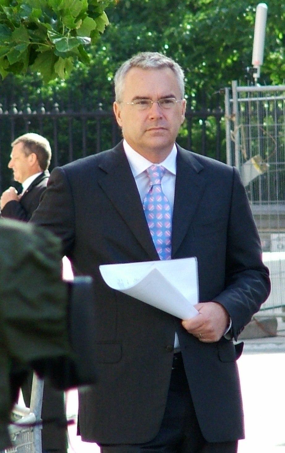 Huw Edwards (journalist), June 2006