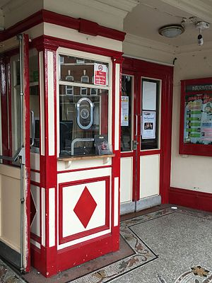 Hyde Park Picture House, Leeds - The Hyde Park Picture House retains its original external ticket booth and terrazzo foyer floor.