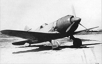 Polikarpov I-180 - I-180-3 prototype