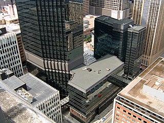 IDS Center skyscraper in Minneapolis, Minnesota