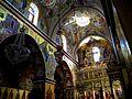 ISRAEL, Mount Tabor - Greek Orthodox Monastery of the Transfiguration (interior 2);.JPG