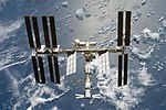 The International Space Station after STS-124.