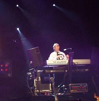 Ian Parker (keyboardist) - Ian Parker at the keyboards at King's Lynn Corn Exchange 2009