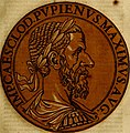Icones imperatorvm romanorvm, ex priscis numismatibus ad viuum delineatae, and breui narratione historicâ (1645) (14746666445).jpg