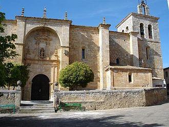 Anguix - La Asunción de Nuestra Señora church (18th century)