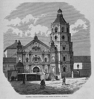 Binondo Church - Parish church of the barrio of Binondo in 1868