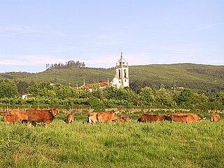 Fontoura Civil parish in Norte, Portugal