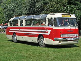 Ikarus 55 High-floor rear-engine Ikarus coach