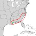 Ilex amelanchier range map 2.png