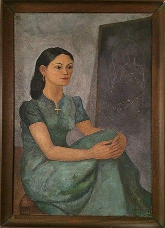 Federico Cantú Garza - Portrait of Cantú's first wife Luz Fabila