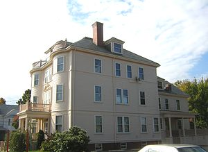 Immaculate Conception Rectory (Revere, Massachusetts) - Image: Immaculate Conception Rectory Revere MA 04