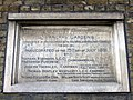 Inauguration tablet, St Pancras Gardens - geograph.org.uk - 672524.jpg