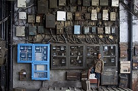 India - Kolkata electricity meters - 3832.jpg