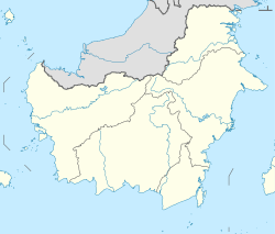 Penajam is located in Kalimantan