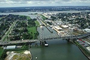 Claiborne Avenue - Claiborne Avenue Bridge over the Industrial Canal