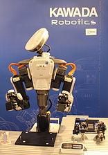 Innorobo 2015 - Kawada Robotics - Nextage.JPG