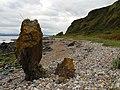 Interesting Rocks on The Black Isle Coastal Path - geograph.org.uk - 1076376.jpg