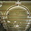 Interieur, overzicht van het plafond van de eetkamer op de begane grond - Alphen aan den Rijn - 20396048 - RCE.jpg