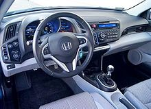 Honda CR Z. Interior