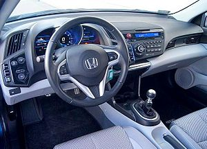 Honda CR-Z - Interior