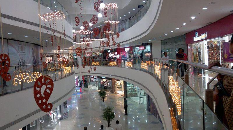 File:Interiors of Phoenix United Mall Bareilly.jpg