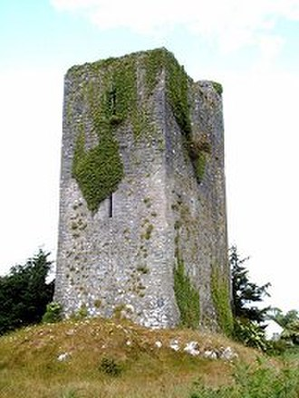History of Ireland - A tower house near Quin, County Clare. The Normans consolidated their presence in Ireland by building hundreds of castles and towers such as this.