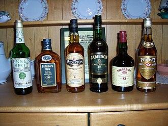 Irish whiskey - Irish whiskeys