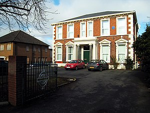 Irish Football Association - Belfast Headquarters of the Irish Football Association at 20 Windsor Avenue, Belfast.