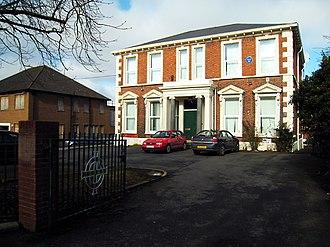 Irish Football Association - Belfast Headquarters of the Irish Football Association at 20 Windsor Avenue, Belfast.