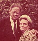 Isabel González with her husband Juan Francisco Torres Isabel paved the way for Puerto Ricans to be given United States citizenship