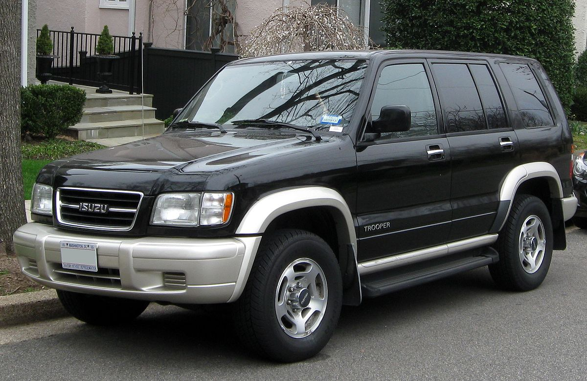 Diagram Of A 3 1 Chev Engine Isuzu Trooper Wikipedia