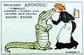 Ivo Puhonny - Bier Restaurant 'Krokodil' (Baden-Baden), 1910.jpg