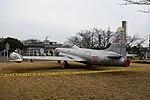 JASDF T-33A(51-5645) left rear view at Komaki Air Base March 3, 2018.jpg