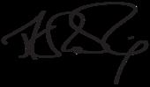 Signature de J. K. Rowling