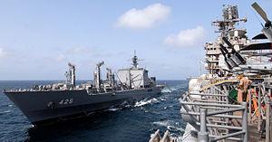 JS Mashū and USS Iwo Jima, -4 Sep. 2006 a.jpg