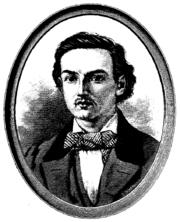 J.J. Wecksell Land och stad-lehden kuvassa 1891