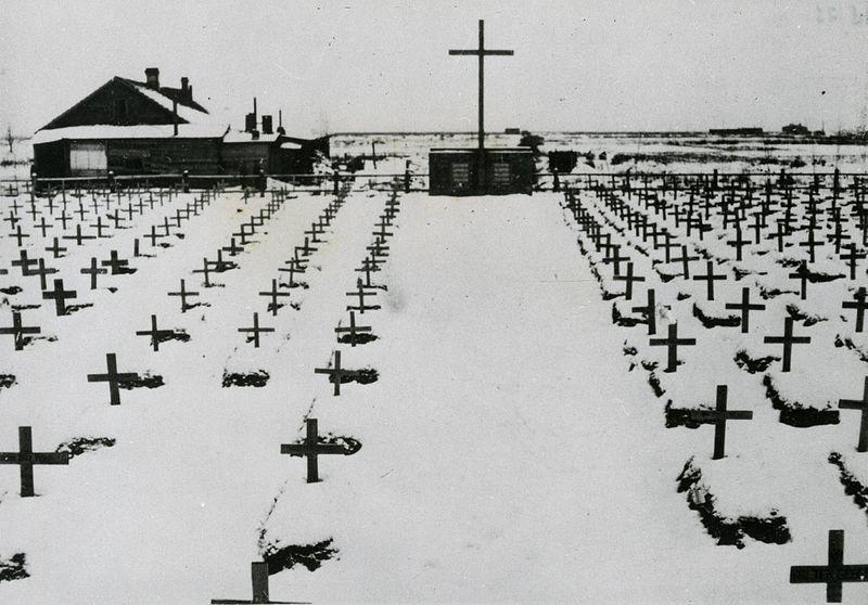 cementerio de la división en grigorovo 1941