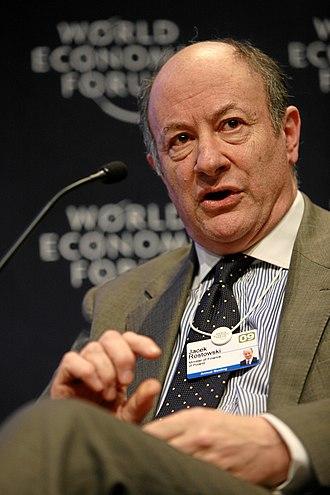 Jacek Rostowski - Image: Jacek Rostowski World Economic Forum Meeting 2009