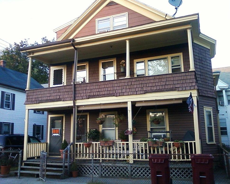 Jack Kerouac%27s birthplace, 9 Lupine Road, Lowell MA