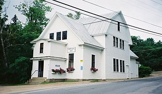 Jackson, New Hampshire - Old Town Hall in 2001