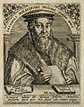 Jacob Milich. Line engraving by T. de Bry, 1650. Wellcome V0004012.jpg